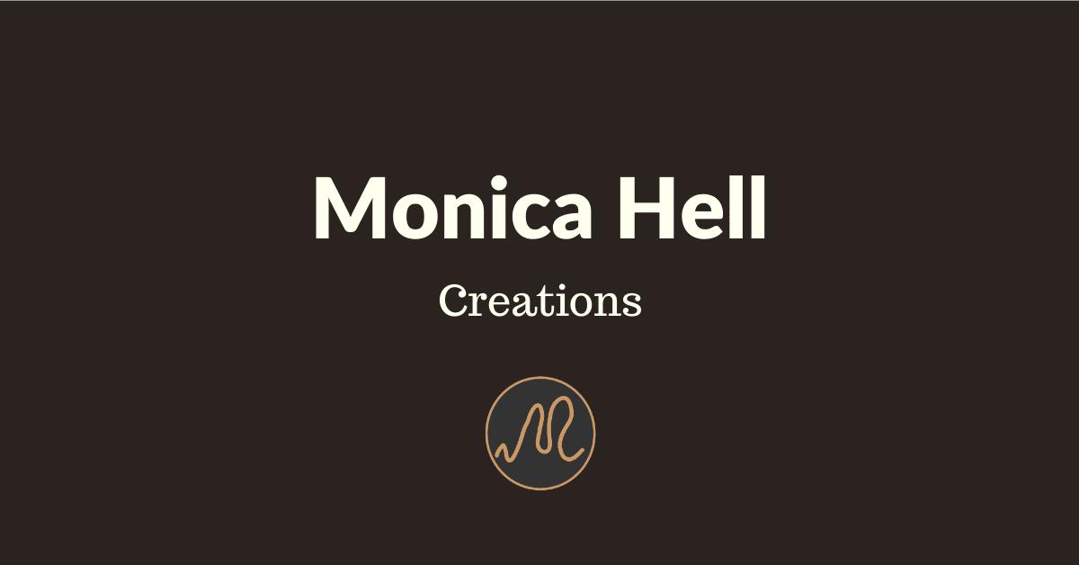 Monica Hell Creations - Borse - Complementi d'Arredo - Accessori - Art Decor - Fatto a mano - Logo - Banner - Naymeet - Digital Marketing
